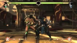 Mortal Kombat 9 - Jade обучение + комбо