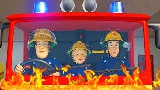 Fireman Sam US New Episodes HD | Air Rescues for Fireman Sam | Fighting Fire Marathon🚒 🔥 Kids Movies