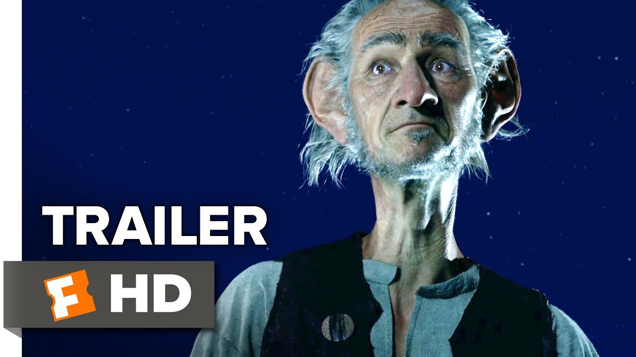 The BFG Official Trailer #1 (2016) - Bill Hader, Mark Rylance Movie HD - YouTube