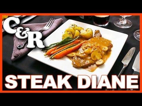 Steak Diane Flambéed with Cognac Recipe
