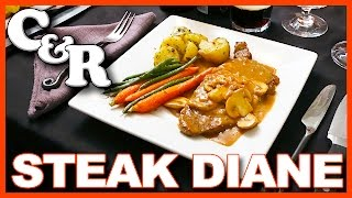 Steak Diane Flambéed with Cognac Recipe on Cook & Review