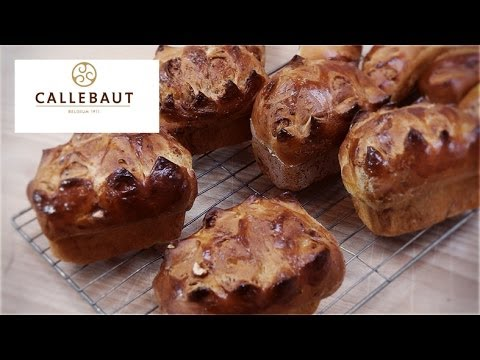 A chocolate pain au lait recipe with Callebaut chocolate from Richard Bertinet