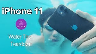 iPhone 11 Waterproof Test! IPhone 11 waterproof performance unexpectedly?!