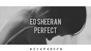 ed sheeran - perfect // español
