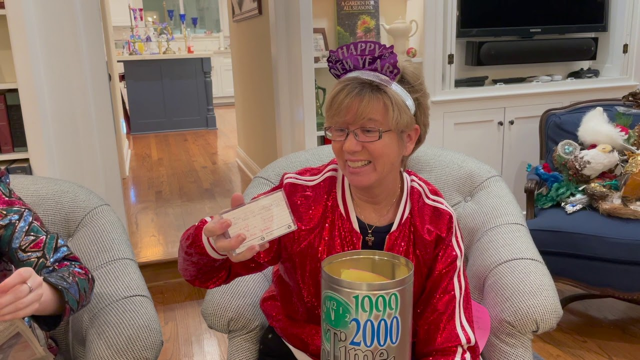 Opening a time Capsule from 2000 --- and Ringing in the New Year!