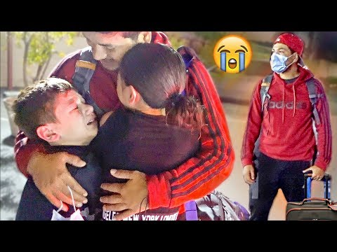 Our Dad Left Us... :(  **emotional reunion**
