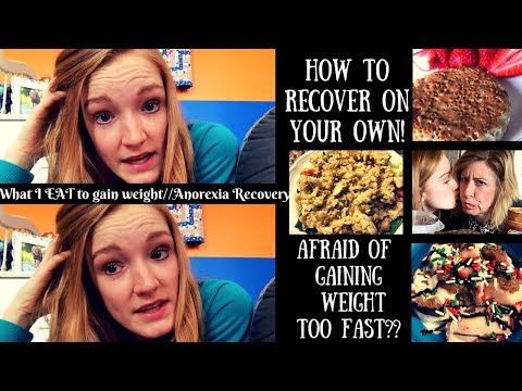 FULL DAY OF EATING// How to say motivated on you OWN (in ED recovery) + Gaining weight TOO FAST?!