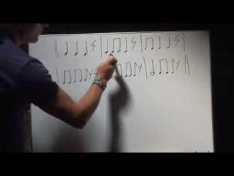 GRATIS  parte 1 Curso básico de LECTURA MUSICAL  para adultos