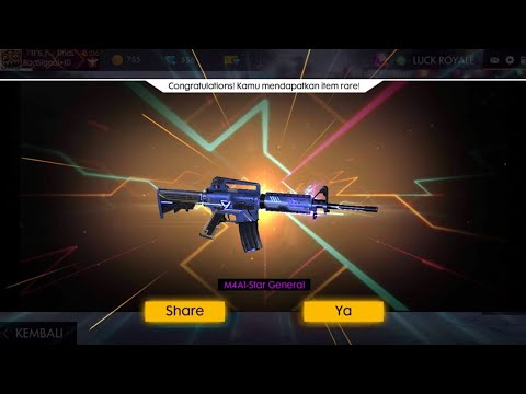 Spin Weapon Royal M4A1 FreeFire - Star General