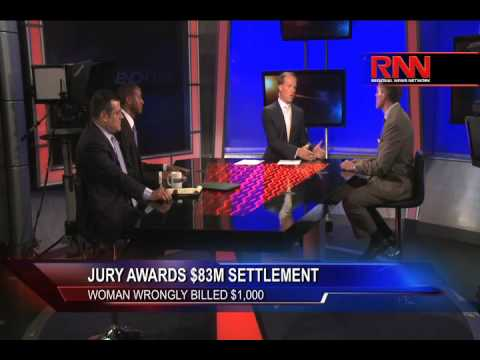 Jury awards $83M settlement to woman wrongly billed $1,000