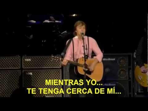 Paul McCartney- And I Love Her (Zocalo,Mex) Subtitulada Español