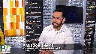 Former U.S. Marine & Ahmadiyya Muslim Mansoor Shams talks about Muslims in Military