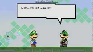 Super Paper Mario- Luigi Faces His Inner Demons