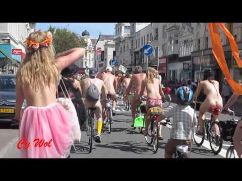 World Naked Bike Ride, Brighton 2014 - a Rider's Eye View