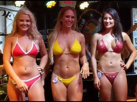 Ebony bikini contest
