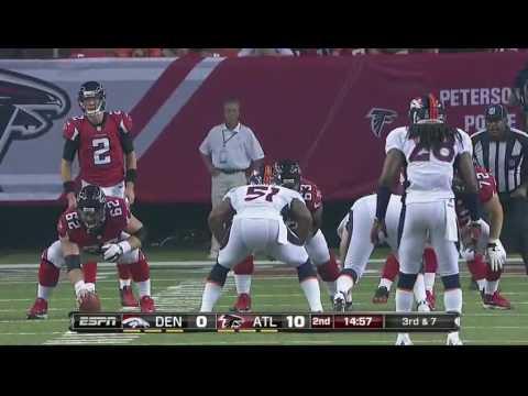 2012 - Broncos @ Falcons Week 2
