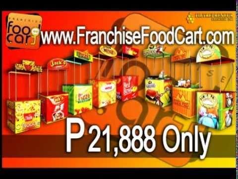 Best Business in The Philippines for 2011 - FOOD CART FRANCHISE - YouTube