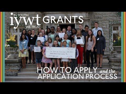 In Youth We Trust Grant Program