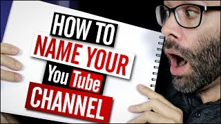 How To Name Your YouTube Channel