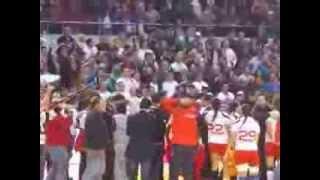 الجمهور الجزائري يساند المنتخب التونسي في نهائي كأس أمم إفريقيا لكرة اليد سيدات ويهتف بفلسطين