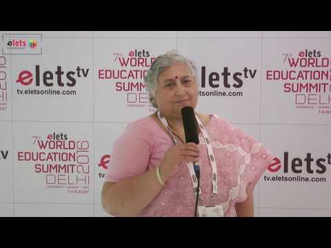 Elets' 7th World Education Summit' 16 - Interview : Asha Sharma, Principal, Indian Learners...