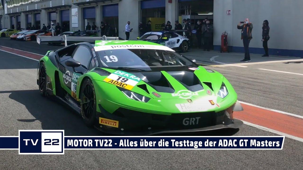 MOTOR TV22: Alle Bilder von den offiziellen Testtagen der ADAC GT Masters in Oschersleben - Teil 2