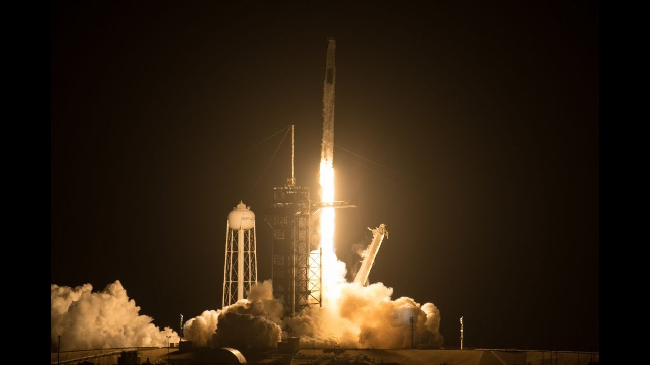 SpaceX's Crew-2 launch lights up the predawn sky with a ...