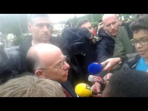 Mdrr Bernard Cazeneuve a longjumeau