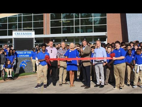 HCCC Ribbon Cutting for Creekside Christian Academy – West Campus