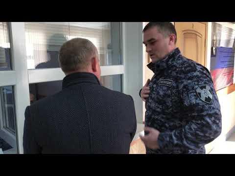 Курянин, находившийся в розыске, задержан при попытке получить лицензию охранника