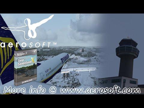 FSX | Aerosoft Official Torp Sandefjord Airport X