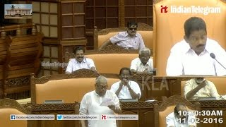 V.S Achuthanandan redicules K.Muraleedharan in his Niyamasabha speach