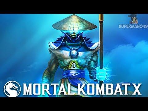 "I GOT DESTROYED BY LORD RAIDEN! - Mortal Kombat X: ""Erron Black"" Gameplay (Fatality & Brutality)  "