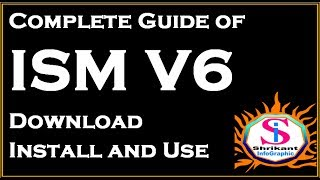 ISM V6 Marathi typing  Software download,install and use