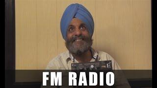 New punjabi comedy   santa banta comedy skit   fm radio   latest comedy skit