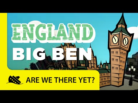 England: Big Ben - Travel Kids in Europe
