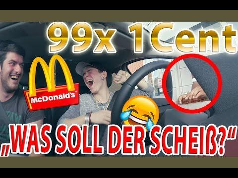 McDonalds PRANK #2 | mit 99x 1 Cent bezahlen | Angel