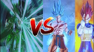 #2 Goku And Vegeta Vs Broly (Dragon Ball Z: Parallel World 2) -DBXV2