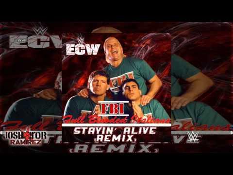 WWE ECW: Stayin' Alive (Remix) [F.B.I.] by N-Trance - DL Custom Cover