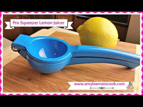 Pro Squeezer Lemon Juicer ~ Fresh Squeezed Lemon Juice