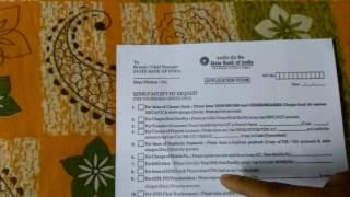 How Change Sbi Register Mobile Number Through Nch