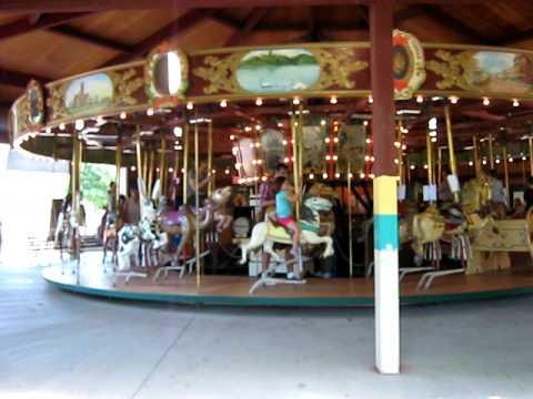 Topeka Kansas Carousel - Lavender Blue