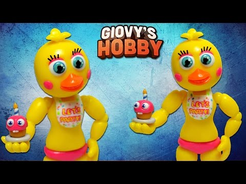✔ADVENTURE TOY CHICA TUTORIAL ➤ FNAF WORLD ★ Porcelana fria / Polymer clay ✔ Giovy Hobby