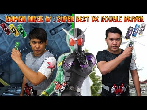 Kamen Rider W : Super Best DX Double Driver – Unboxing & Review