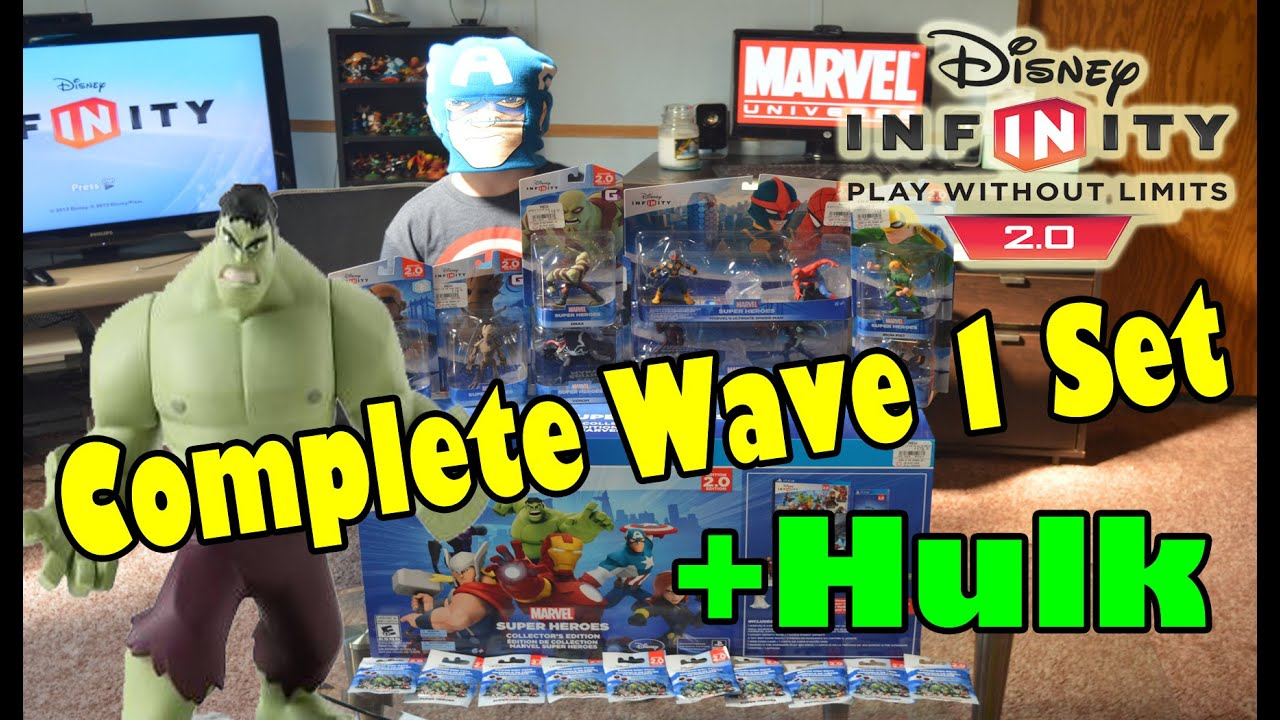 Disney Infinity 2.0 Mega Hunting Score (Complete Wave 1 ...