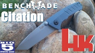 the h citation another budget friendly knife from benchmade