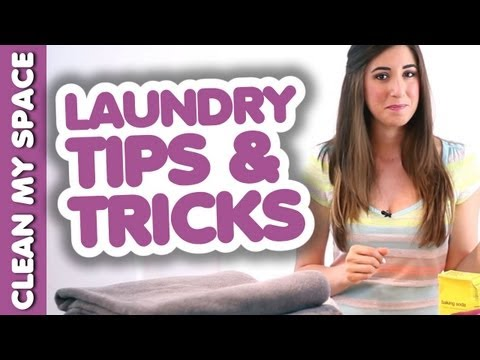 Helpful Laundry Tips & Tricks!