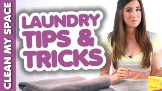 Helpful Laundry Tips & Tricks! Simple & Fresh Laundry Ideas That Save Time & Money (Clean My Space)