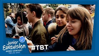 #ThrowbackThursday: Junior Eurovision stars go on a daytrip