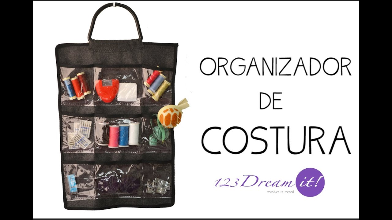 Organizador de Costura - YouTube